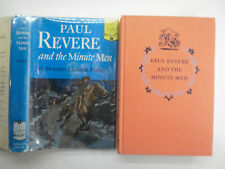 Landmark #4, Paul Revere and the Minute Men, Dorothy Fisher DJ, 14th Print, 1950