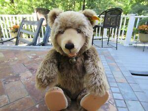 "Vintage Steiff Stuffed Teddy Bear 14"", ( Made in Western Germany)"