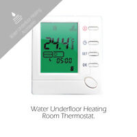 Digital Weekly Programmable LCD Water Underfloor heating Room Heating Thermostat