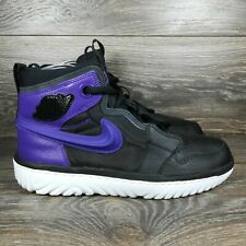 Nike Air Jordan 1 High React 'Court Purple' Sneakers (AR5321-005) Men's 9