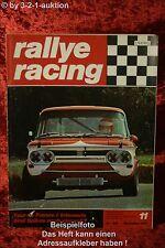 Rallye Racing 11/71 BMW 2002 tii Touring Daf Marathon + Poster