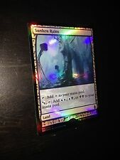 MTG MAGIC ZENDIKAR EXPEDITION SUNKEN RUINS FULL ART (MASTERPIECE SERIES) NM FOIL