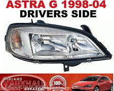 Vauxhall Astra G Mk4 Faros Cromo los conductores de lado derecho van Hatchback Club
