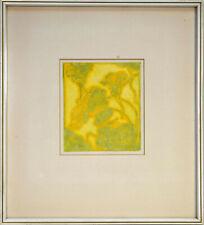 Illies: Kapuzinerkresse. [1896/1969]. Original-Radierung. Gerahmt.