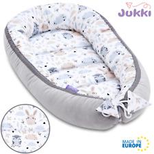 🔥NEU PREMIUM Baby Nestchen Kokon Babynest Kuschelnest Reisebett Baumwolle TIERE