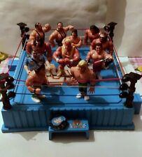 WRESTLING HASBRO WWF WWE  RING LOTTO 11 ACTION FIGURE 1990 GIG