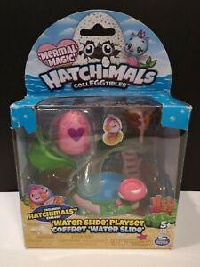 Hatchimals Colleggtibles Mermal Magic Water Slide Playset - New