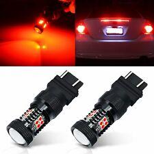 JDM ASTAR 2x Pure Red 7443 7440 T25 LED Brake Tail Stop turn Signal Lights Bulbs