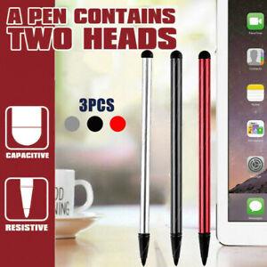 3PCS Touch Screen Stylus Pen  iPad iPhone Samsung LG HTC GPS Tomtom Universal AU