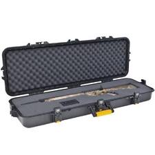 "Plano 42"" Tactical All Weather Single Rifle Black Hard Case 46""X16""X5.5"" 108421"