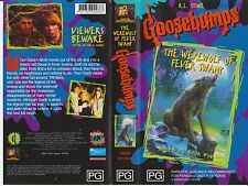 Vhs *Goosebumps - The Werewolf of Fever Swamp* R.L.Stine Cult Frightmare Stories