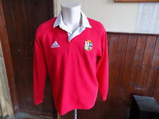 Vintage British Lions rugby shirt adidas size M long sleeve dated 04