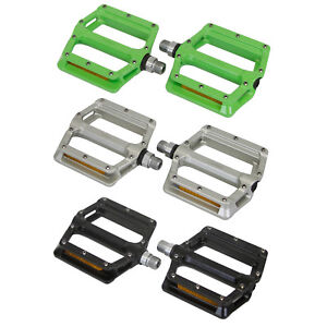 "Wellgo B233AL Cr-Mo Spindle 9/16"" DU Sealed Bearing Bicycle Bike Pedals Platform"