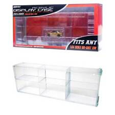 Connecting Acrylic Display Case 6-Slots 1/64 Scale. Includes Honda Civic Si!