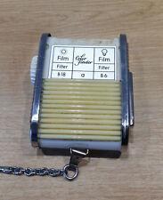 Gossen Sixtomat Color Finder Belichtungsmesser Light Meter Lichtmesser Tasche