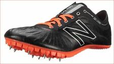 new New Balance women shoes running cleats Wsd200Bp D200 black orange 9 Msrp$105