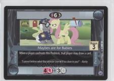 2013 My Little Pony Collectible Card Game #185 Maybes are for Babies Gaming 1i3