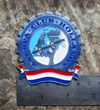 vintage vespa lambretta HOLLAND club badge NL GS 160 150 FARO BASSO ACMA SS 180