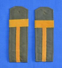Bulgarian Communist Army Sergeant Major Mackintosh Coat Uniform SHOULDER BOARDS