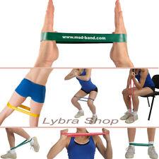 Msd BAND LOOP - VERDE FORTE cerchio CHIUSO fascia elastico Pilates Yoga Fitness