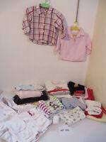 Kleiderpaket 23 Teile Baby Gr. 74 Mädchen Kleidung Bluse Hose Sweatshirt  KP142