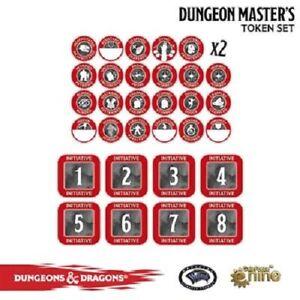 DUNGEON MASTER TOKEN SET - 72500 - DUNGEONS & DRAGONS