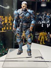 ARKHAM ORIGINS Deathstroke Unmasked Batman Video Game DC Collectibles RARE LOOSE