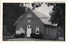 Postcard Indian Valley Mennonite Church Harleysville PA