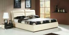 Bed Leather Bed Upholstered Bed Box Double Bedroom Double Bed Beds Relax