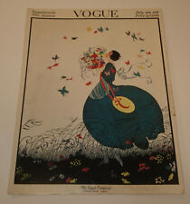 "VOGUE ""Suggestions for The Hostess"" July 15th 1916 Print 1970's"