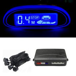 Car Parking Sensors Reverse Backup Radar Monitor System Human Voice Buzzer Alarm