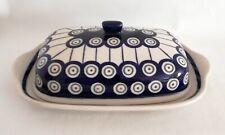 Geschenk Butterdose 2-teilig für 250 gr. - Bunzlauer Keramik ne3316 Handarbeit