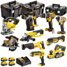 DeWalt DCKT4T10AP4 10pcs 18V XR Li-ion 4 x 5.0Ah Batteries, Charger & T-Stak Kit