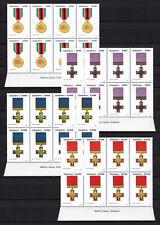 Zimbabwe 2004 Medals Imprint Blocks, MNH (sheet margin)