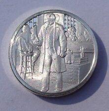 Franklin STERLING SILVER Mini-Ingot: 1883 Government Civil Service -Uncirculated