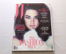 Kristen Stewart W Magazine The Fashion Issue September 2011 New