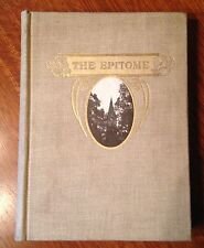 """1902 Lehigh University Yearbook """"The Epitome"""""""