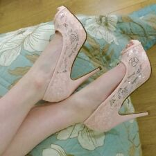 New Look Stiletto Peep Toes Wide (E) Heels for Women
