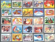 Walt Disney stamps 500 all different stamp collection