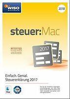 WISO steuer:Mac 2018 (für Steuerjahr 2017 / Frustfre...   Software   Zustand gut