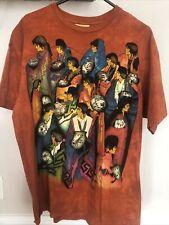Vintage The Mountain Tie Dye Amado Pena Aztec Tribal Tshirt Men's Xl