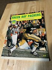1970 GREEN BAY PACKERS FOOTBALL YEARBOOK TRAVIS WILLIAMS COVER NEAR MINT