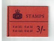 ERROR M25P 3 SHILLING PHOS  3/ STITCHED BOOKLET AUGUST 1960 cat £75 normal book