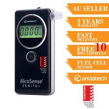 Breath Test Breathalyser AlcoSense Zenith+ Fuel Cell Sensor