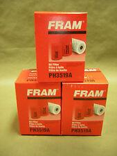 Fram PH3519A  Hydraulic Filter 3 pack HD GMC Chevrolet Fleet Farm