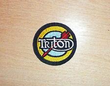CLASSIC TRITON SEW ON EMBROIDERED PATCH-NORTON/TRIUMPH