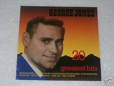 CD - GEORGE JONES - 20 GREATEST HITS - Big Country
