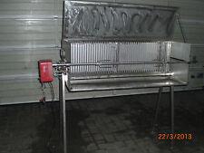 GROSSE SPANFERKELGRILL 1250x500x430 , LAMMGRILL, HÄNCHEN, EDELSTAHL, MASSIV.