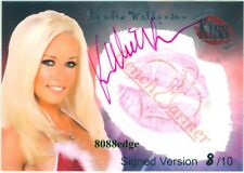 2005 BENCHWARMER LIP KISS AUTO: KENDRA WILKINSON #8/10 AUTOGRAPH GIRLS NEXT DOOR