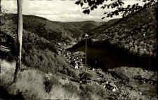 Zorge Niedersachsen ~1950/60 Südharz Blick ins Tal Wetterfahne Wohnhäuser Dorf